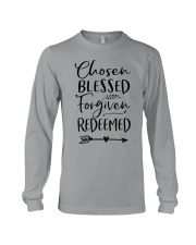Chosen Blessed Forgiven Redeemed Long Sleeve Tee thumbnail