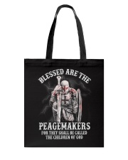 Blessed are the Peacemakers Tote Bag thumbnail