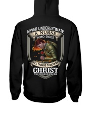 Never Underestimate a Nurse Hooded Sweatshirt thumbnail