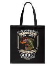 Never Underestimate a Nurse Tote Bag tile