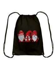 Gnomes Christmas Drawstring Bag thumbnail