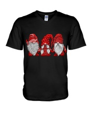 Gnomes Christmas V-Neck T-Shirt thumbnail