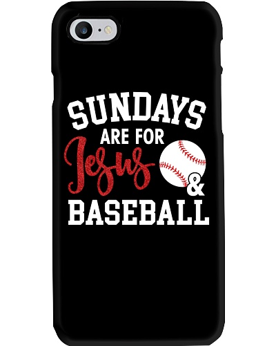 Sundays Are For Jesus and Baseball