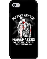 Blessed are the peacemakers Phone Case thumbnail