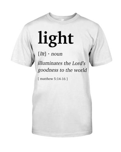 Light Definition Bible Verse