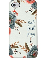 But First Pray Phone Case i-phone-7-case