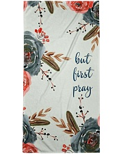 But First Pray Bath Towel thumbnail