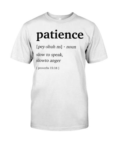 Patience Definition Bible Verse