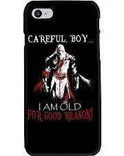 Careful Boy Old Knight Phone Case thumbnail
