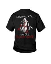 Careful Boy Old Knight Youth T-Shirt thumbnail