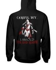 Careful Boy Old Knight Hooded Sweatshirt thumbnail
