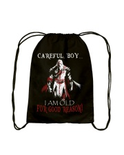 Careful Boy Old Knight Drawstring Bag thumbnail
