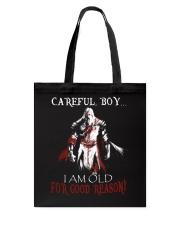 Careful Boy Old Knight Tote Bag thumbnail
