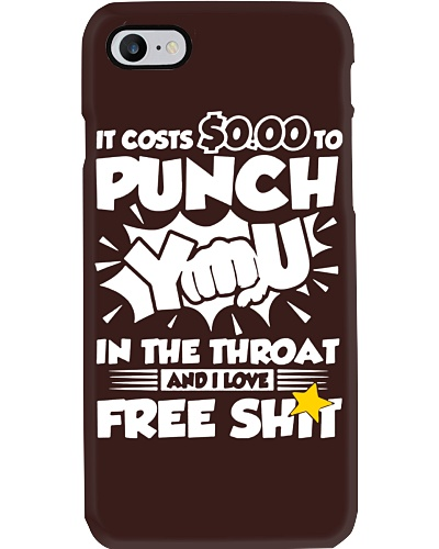 It Cost Zero to Punch You