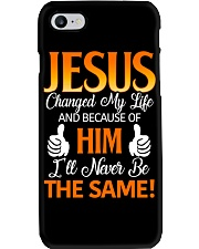 Jesus Changed My Life Phone Case thumbnail