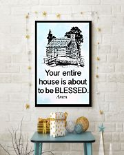 Your entire house is about to be blessed 11x17 Poster lifestyle-holiday-poster-3