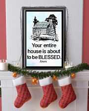 Your entire house is about to be blessed 11x17 Poster lifestyle-holiday-poster-4