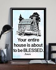 Your entire house is about to be blessed 11x17 Poster lifestyle-poster-2