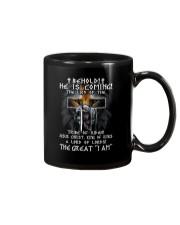 Behold He Is Comming Mug thumbnail