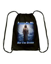 Focus On Me Not The Storm 2 Drawstring Bag thumbnail