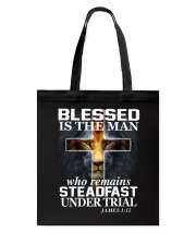 Blessed Is The Man Tote Bag thumbnail