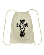Lion Cross Drawstring Bag thumbnail