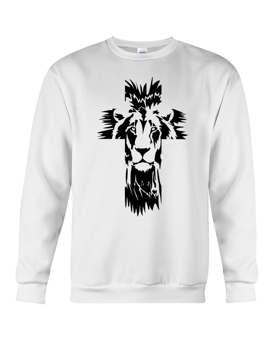 Lion Cross Crewneck Sweatshirt