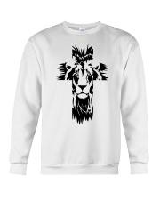 Lion Cross Crewneck Sweatshirt front