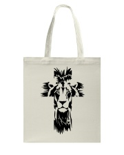 Lion Cross Tote Bag thumbnail