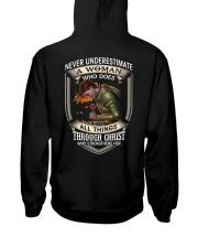 Never Underestimate a Woman Hooded Sweatshirt thumbnail