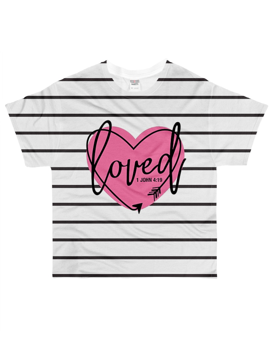 Loved  All-over T-Shirt