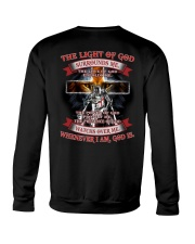 The Light Of God  Crewneck Sweatshirt thumbnail