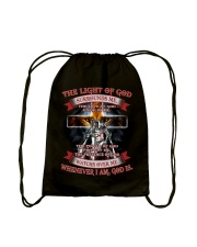 The Light Of God  Drawstring Bag thumbnail