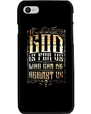 If God Is For Us Who Can Be Against Us Phone Case thumbnail