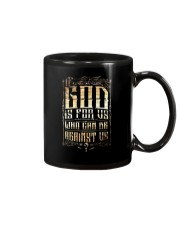 If God Is For Us Who Can Be Against Us Mug thumbnail