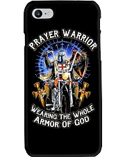 Prayer Warrior Wearing THe Whole Armor Of God Phone Case thumbnail