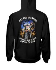 Prayer Warrior Wearing THe Whole Armor Of God Hooded Sweatshirt thumbnail