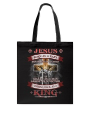 Coming back as a King Tote Bag tile