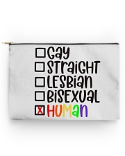 I am human Accessory Pouch - Large thumbnail