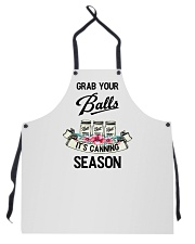 GRAB YOUR BALLS IT'S CANNING SEASON Apron front