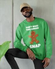 DON'T MAKE THIS GINGER SNAP Crewneck Sweatshirt apparel-crewneck-sweatshirt-lifestyle-front-08
