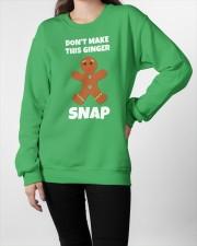 DON'T MAKE THIS GINGER SNAP Crewneck Sweatshirt apparel-crewneck-sweatshirt-lifestyle-front-09
