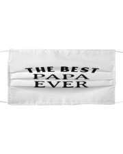 The best papa ever  Cloth face mask thumbnail
