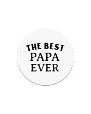 The best papa ever  Circle Magnet thumbnail