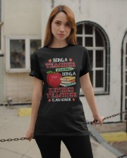 Being A Retired Teacher Is An Honor Tee Classic T-Shirt apparel-classic-tshirt-lifestyle-19