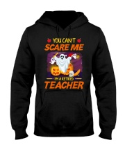 You Can't Scare Me I'm Retired Teacher Halloween Hooded Sweatshirt thumbnail