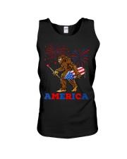 Bigfoot Sasquatch America Fireworks 4 Unisex Tank thumbnail