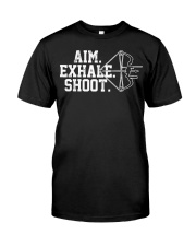 Archery T-Shirt - Aim Exhale Shoot B Classic T-Shirt thumbnail