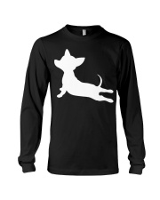 CHIWEENIE YOGA FITNESS GIFT Chihuah Long Sleeve Tee tile
