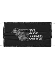 Love Pitbull  We Are Their Voice  Cloth face mask thumbnail